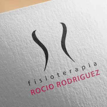 DISEÑO-Logotipo «Fisioterapia Rocío Rodríguez»