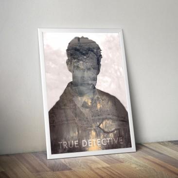 DISEÑO- Cartel promocional «True Detective»