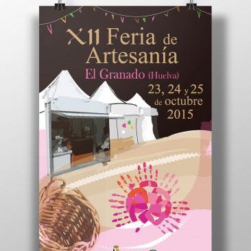 DISEÑO – Cartel XII Feria de Artesanía