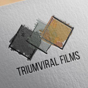 DISEÑO – Logotipo «Triumviral Films»