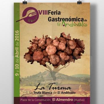 DISEÑO – Cartel VIII Feria Gastronómica