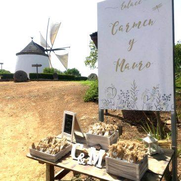 DISEÑO – Cartel boda Carmen y Mauro
