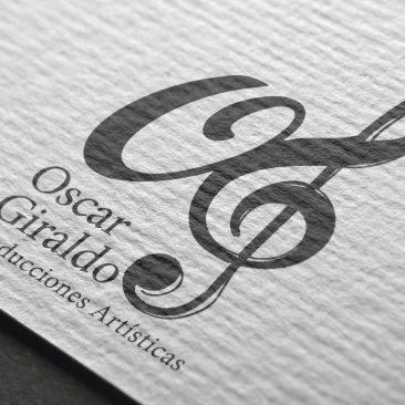 DISEÑO – Logotipo Oscar Giraldo
