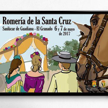 DISEÑO – Cartel Romería Sta. Cruz 2017