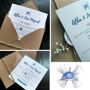 DISEÑO – Invitación boda A&JM