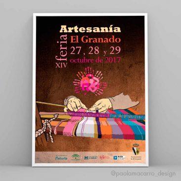 DISEÑO – Cartel XIV Feria de Artesanía de El Granado