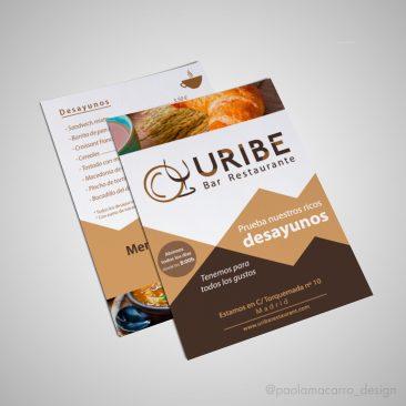 DISEÑO – Flyer promoción Uribe